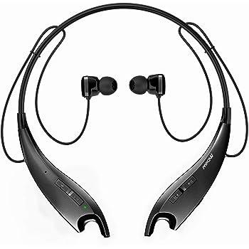 Amazon Com Mpow Jaws Gen 3 Bluetooth Headphones Wireless Neckband Headphones 13h Playtime Bluetooth Headset W Call Vibrate Alert Cvc 6 0 Noise Cancelling Mic Bluetooth Earbuds Magnetic Light Gray