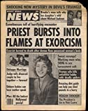 WEEKLY WORLD NEWS 7/3 1984 Brooke Shields & Michael Jackson; Reagan Castro
