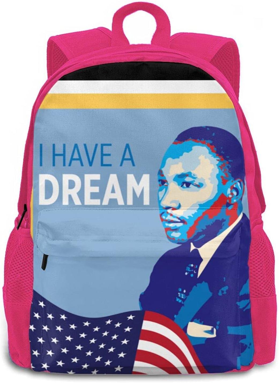 Henthin Martin Luther King Backpacks Some reservation Backpack Soldering Kids For Schoolbag