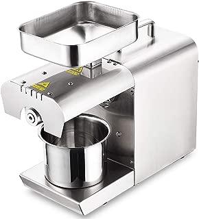 BAOSHISHAN Household Oil Press Machine Electric Oil Presser for Pressing Peanut Sesame Rapeseed Walnut Oil Cold Press Machine 110V