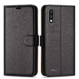 Case Collection Premium Leather Folio Cover for LG K22 Case