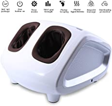 FCHJJ Shiatsu Foot Massager Machine with Heat Foot Massager with Soothing Heat Intelligent Timing 360° All Inclusive acupoint Massage Relieve Foot Pain from Plantar Fasciitis
