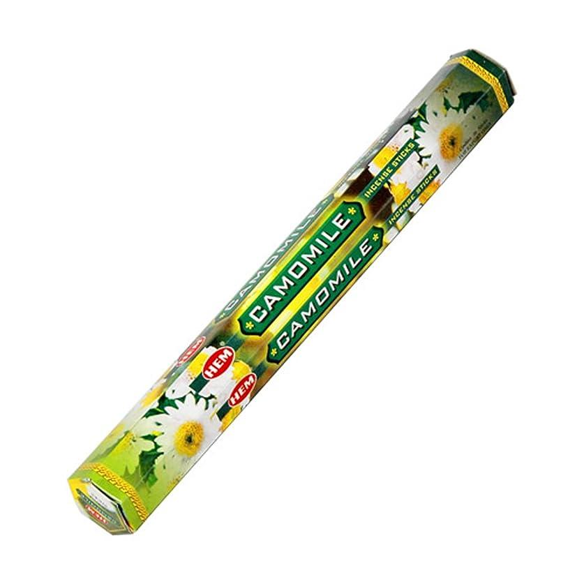 種類放牧する逸話HEM(ヘム) カモミール CAMOMILE スティックタイプ お香 1筒 単品 [並行輸入品]