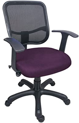 Hetal Enterprises Mesh Fiber Office Chair (Black)