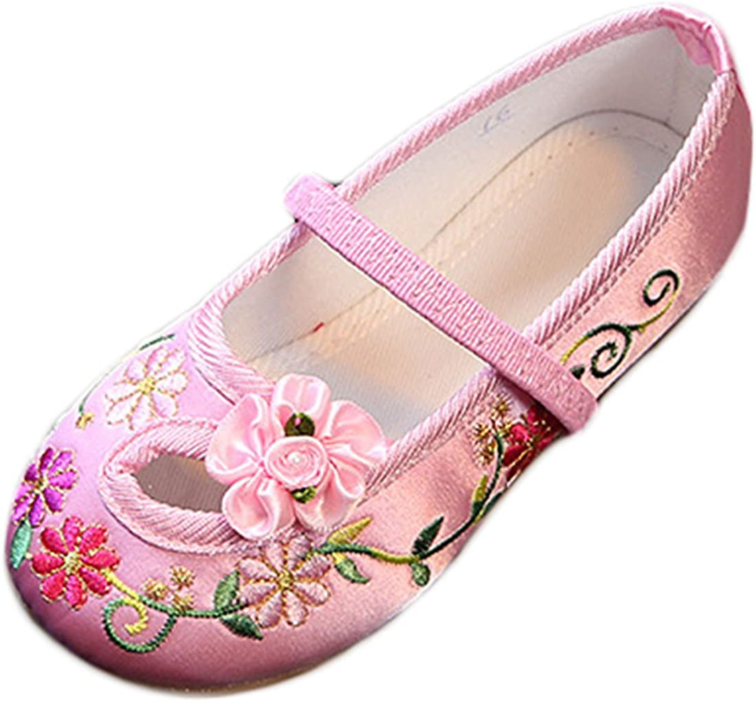 YIBLBOX Toddler Baby Girls Brand Cheap Sale Venue Mary Tradi Ballet Janes depot Flats Chinese