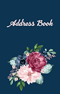 Address Book: Exclusive Personal Address book, with 546+ spaces for names, phone numbers and emails plus additional birthday and note pages.