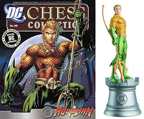 dc comics Chess Figurine Collection Nº 48 Aquaman