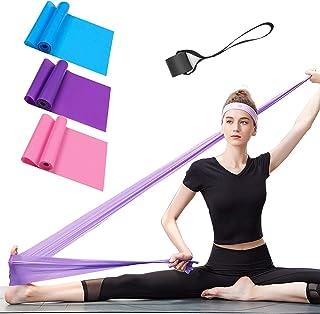 comprar comparacion Bandas Elasticas Fitness 3 Piezas Resistencia Bandas de Ejercicios para Yoga, Pilates, Crossfit, Estiramientos, Fisioterap...