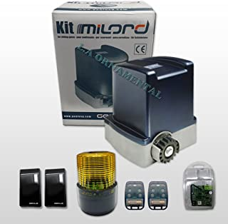 Genius Milord 8C-1750lbs Kit Automated System for Residential Sliding Gates Unit