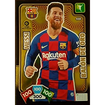 Panini Messi Balón de Oro Adrenalyn XL 2019-2020: Amazon.es ...