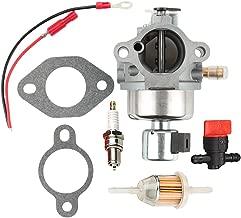 Hilom 20-853-33-S Carburetor + Fuel Filter for Kohler Courage SV Series SV470 SV480 SV530 SV540 SV590 SV591 SV600 SV601 SV610 SV620 SV530S CV CV490 CV492 CV493 117-S Engine - Kohler CV491 Carburetor