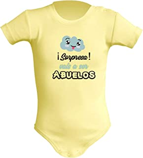 Body Unisex para bebé.Vais a ser Abuelos.Regalo Original.Varios Modelos.Regalo Personalizado