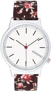 Komono Mixte Binaire Quartz Montre avec Bracelet en Tissu KOM-W1810