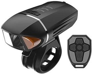 QIAO Luz Bicicleta Recargable USB, 350 Lúmenes LED Luces Bicicleta Delantera, 3 Modos, Impermeable Luces Seguridad para Ci...