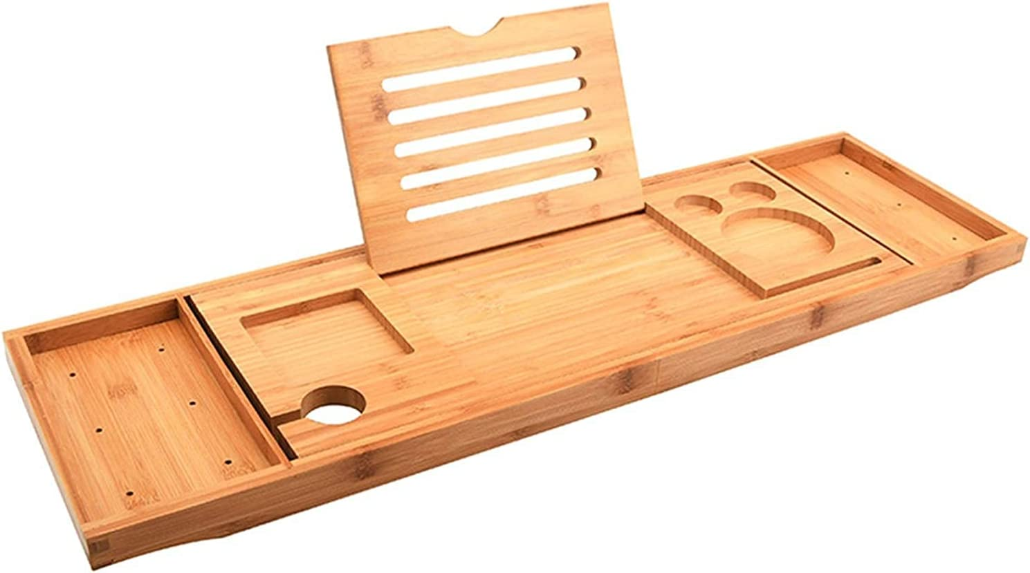 Amberbaby Challenge the lowest price of Large-scale sale Japan Telescopic Bathtub Bamboo Rack