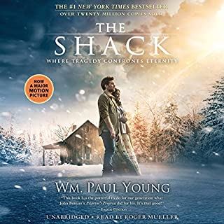 The Shack                   By:                                                                                                                                 Wm. Paul Young                               Narrated by:                                                                                                                                 Roger Mueller                      Length: 9 hrs and 15 mins     9,063 ratings     Overall 4.5