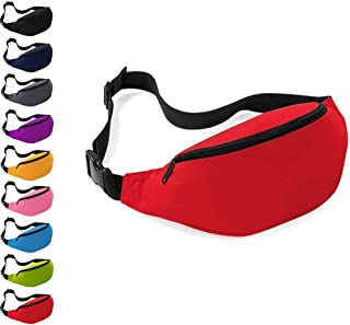 Women & Men Fanny Pack, Waist Bag, Hip Bum Bag with Adjustable Strap for Outdoors Workout Traveling Casual Running Hiking Cycling