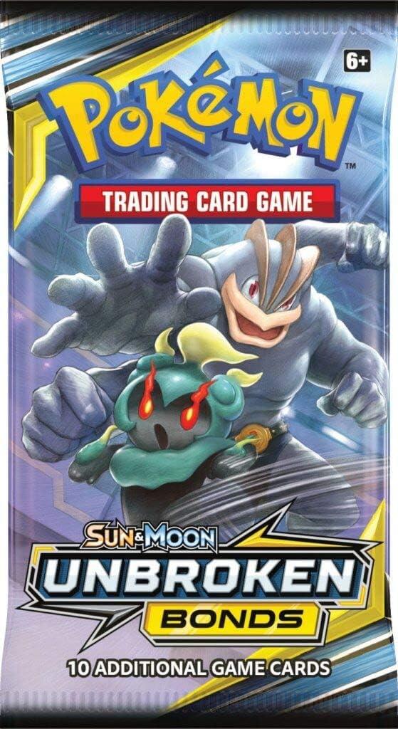 Fast! Pokemon Sun /& Moon Unbroken Bonds 3 card Booster Packs All 4 Pack Styles