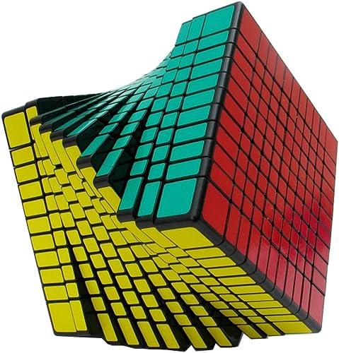 11X11x11 Magic Cube, Cube De Puzzle De Compétition Professionnelle à Vitesse Lisse Réglable avec Ressort, Jouets éducatifs pour Enfants,noir