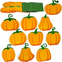 SUPLA 60 Pcs Fall Wedding Place Cards Assorted Pumpkins Table Name Cards Escort Cards Guest Tented Cards Seating Cards Number Cards Buffet Food Cards for Thanksgiving Autumn Halloween Table Setting