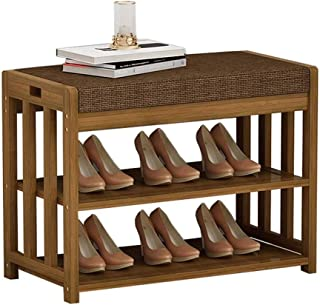 JJZXT Banc de Rangement Amovible Coussin de siège, Chaussure Cabinet Chaussures Banc, for Vestibule Chambre Salon