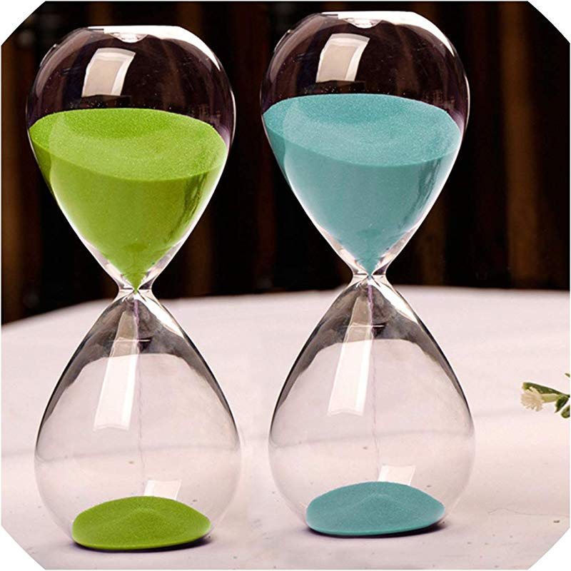 10 Minutes Transparent Glass Sand Timer Clock Hourglass Sandglass Home Decor Wedding Decoration Accessories Lovely Gifts Crafts Red
