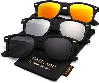 Polarized Sunglasses for Men and Women | Matte Finish Sun...