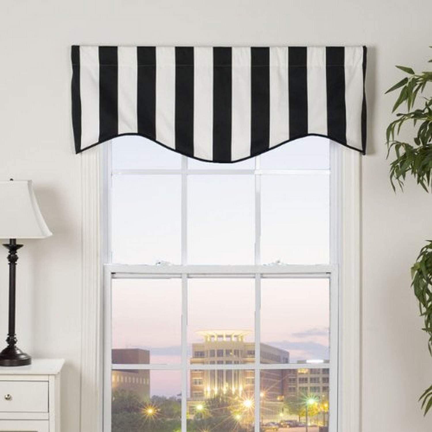 Victor Mill City Sales results No. 1 Stripe Shaped Beauty products Valance