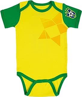 brazil jersey onesie