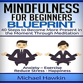 Mindfulness for Beginners Blueprint audiobook cover art