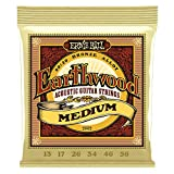 Cuerdas para guitarra acústica de bronce medio 80/20 de Ernie Ball Earthwood - calibre 13-56