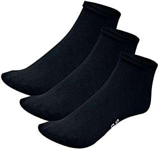 Bamboo Sports Quarter Crew Socks- Super Soft & Comfortable Prevent Smelly & Sweaty Feet