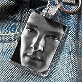 Benedict Cumberbatch - Original Art Keyring #js002