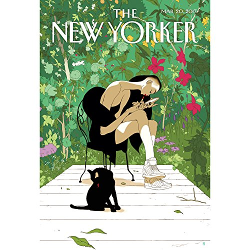 The New Yorker, March 20th 2017 (Andrew Marantz, Emma Allen, Dan Chiasson) cover art