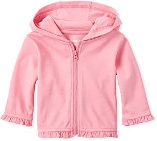 The Children's Place Baby Girls' Solid Hoodie