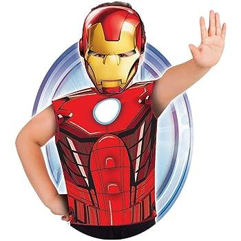 Marvel - Disfraz de Iron Man set de fiesta camiseta + máscara ...