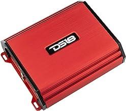 $99 » DS18 S-1100.2/RD Car Audio Amplifier – Full-Range, Class Ab, 2 Channel Amplifier, 1100 Watts (Red)