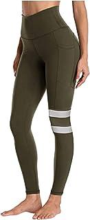Xmiral Pantaloni Tuta Donna Vintage Leggings Sportivi Donna Push Up - Eleganti Leggings Sport Opaco Yoga Fitness Spandex P...