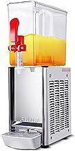 CLING Varm och kall dubbel temperatur dryckespump maskin kommersiell juicemaskin en kanna blandningsspray kall dryck maski...