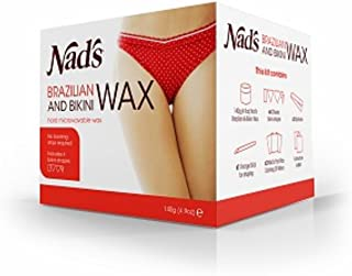 Nad's Brazilian & Bikini Wax 4.9 oz (Pack of 3)