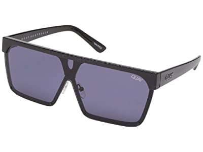 QUAY AUSTRALIA QUAYxBenefit Shade Queen (Black/Smoke) Fashion Sunglasses