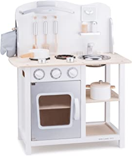 New Classic Toys Toys-11053 Kitchenette-Bon Appetit-White/