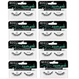 Ardell Fashion Lashes Natural Strip Lash, (Black) [120] 1 each ( Pack of 8)