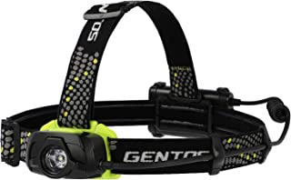 GENTOS(ジェントス) LED ヘッドライト ゲインテック 【明るさ320-550ルーメン/実用点灯6-12時間/耐塵/防滴】 単3形電池3本使用 ANSI規格準拠
