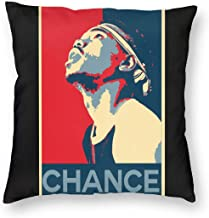 24ershisi Chance The Rapper Pillowcase Zippered Throw Pillow Cover Soft Cotton Comfortable Picture Printed Custom Multiple Size