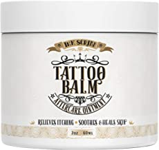 Premium Tattoo Aftercare Healing Balm Ointment - Ink Scribd - Relieves Itching, Soothes, Heals - Tattoo Brightener Cream with All Natural and Anti-inflammatory Herbal Ingredients - Tattoo Care (2oz)