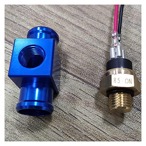 YYOMXXOM Motocicleta Interruptor de Temperatura Radiador Ventilador Thermosta Fit para Yamaha YZ YZF WR WRF DT XT TTR 125 250 350 450 (Color : Blue)