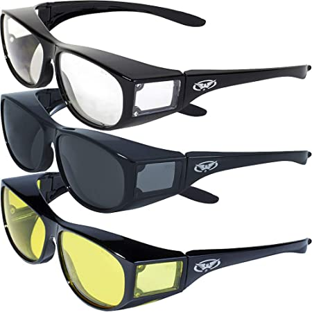 Safety Glasses Spec Spectacles Work Clear Smoke Yellow Anti-Scratch Lens Anti-UV