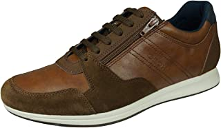 Geox Homme Chaussures à Lacets Avery, MonsieurChaussures Sport,Removable Insole
