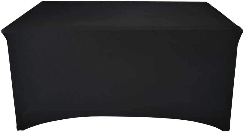 Werkapro 11324 Pliante 180 cm-Housse de Protection en Ext/érieur pour Table de Jardin Rectangulaire-Anti UV-Noir 180 cm x 74 cm x 74 cm